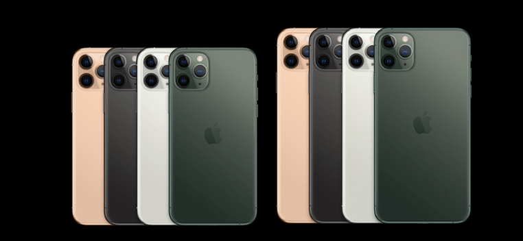 Apple iPhone 11 Pro and iPhone 11 Pro Max available in 4 colour