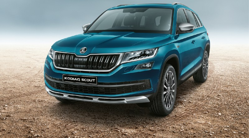 SKODA KODIAQ Scout Launched Today in India at a starting price of Rs. 33,999 Lakhs (Ex-showroom Price).