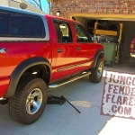 Chevrolet S10 Zr5 Crew Cab With Zr2 Style Jungle Fender Flares