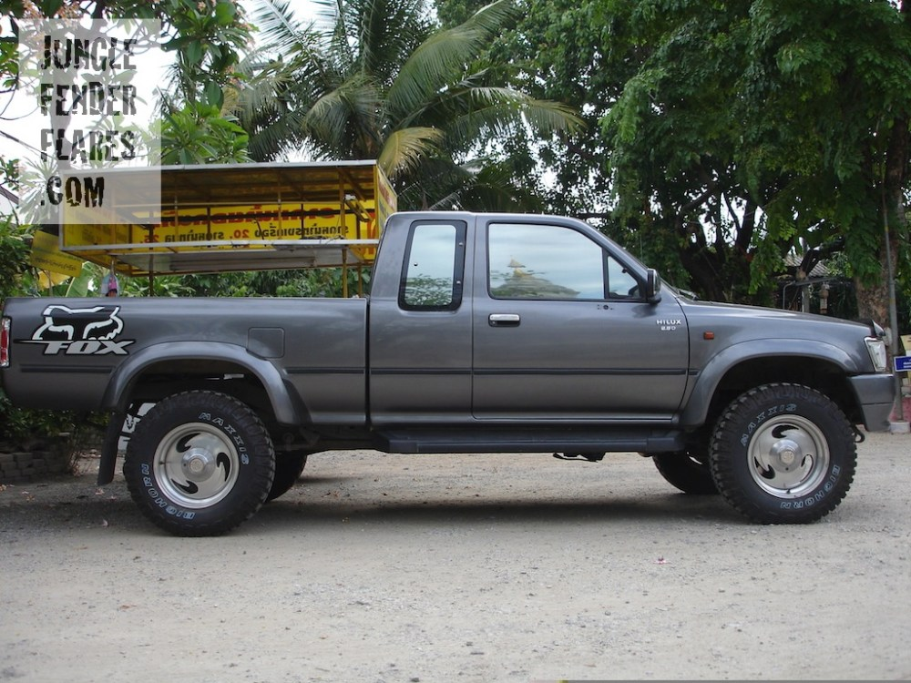 medium resolution of 1996 toyota hilux wheel arch extensions