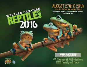 2016 Fall Western Canadian Reptle Expo WCRE