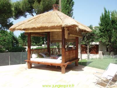jungle spirit gazebos paillotes meubles et decoration d exterieur et d interieur produits