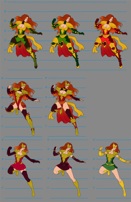 Marvel Avengers Alliance Sprites  Kelly Hamilton