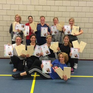 Afsluiting succesvolle cursus 'Zelfverdediging voor vrouwen'