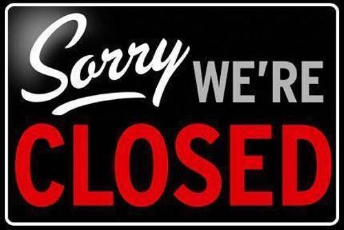 Club tijdelijk gesloten i.v.m. Corona-maatregelen