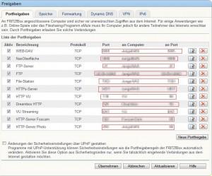 Hardware: DynDNS mit Fritz!Box (3/4)
