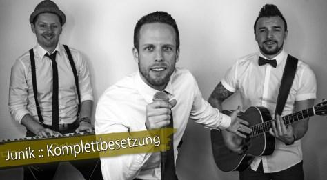 Junik :: Die Hochzeitsband aus Reutlingen :: (c) by Junik