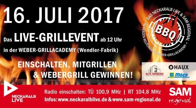 Das Neckaralb Live & SAM Regional BBQ-Event
