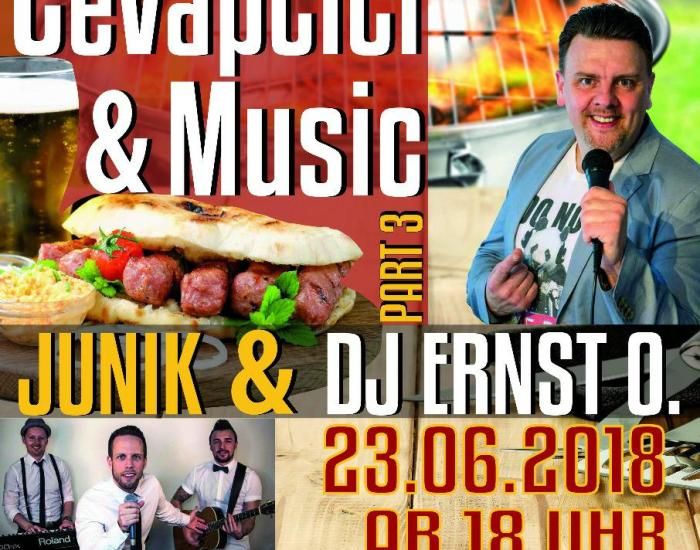 Cevapcici & Music Vol.3 :: 23.06.2018 im Restaurant Split Reutlingen