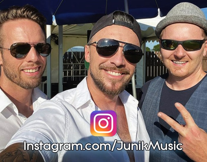 Die Band Junik stellt ihren Instagram-Kanal vor.