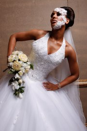 wedding hair afro salon