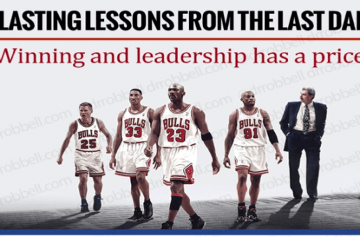Winning and Leadership Has a Price