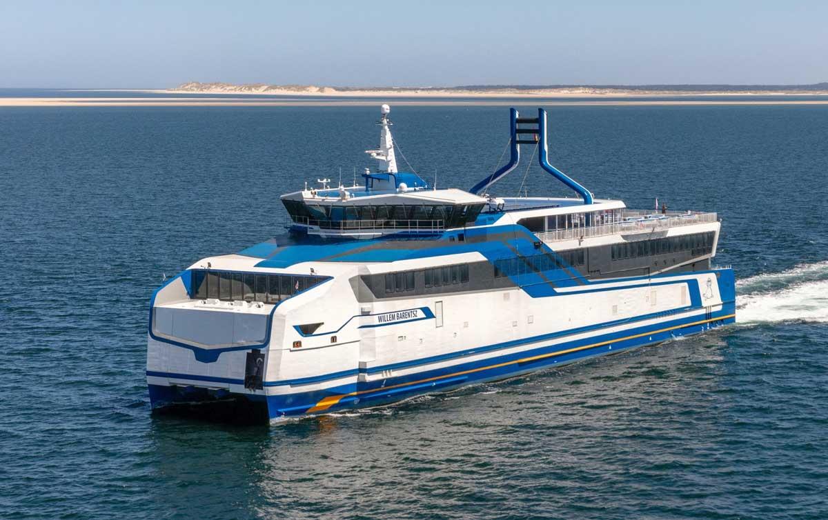 (émissions des navires) Ferry GNL de BMT