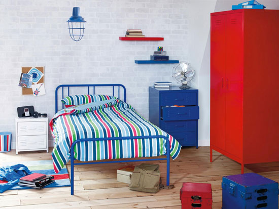Locker Industrial Style Bedroom Furniture For Boys At Next