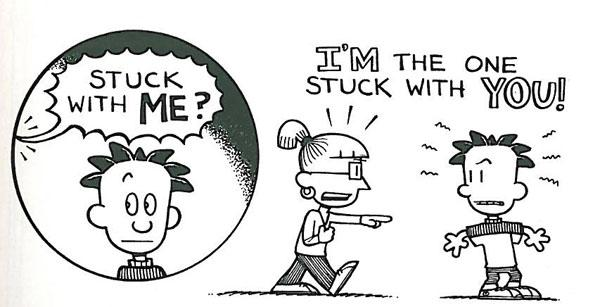 Junior Library Guild : Big Nate Strikes Again by Lincoln