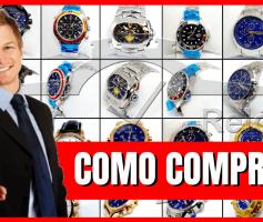 Como Comprar os Relógios da Junior Relógios de Luxo!