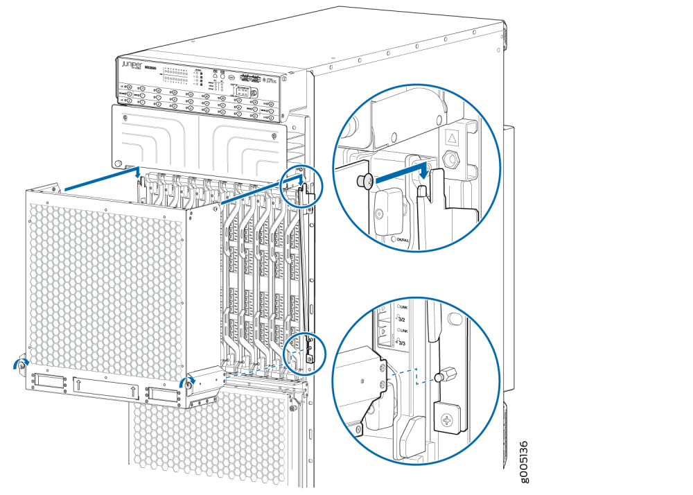 medium resolution of installing the extended emi card cage cover