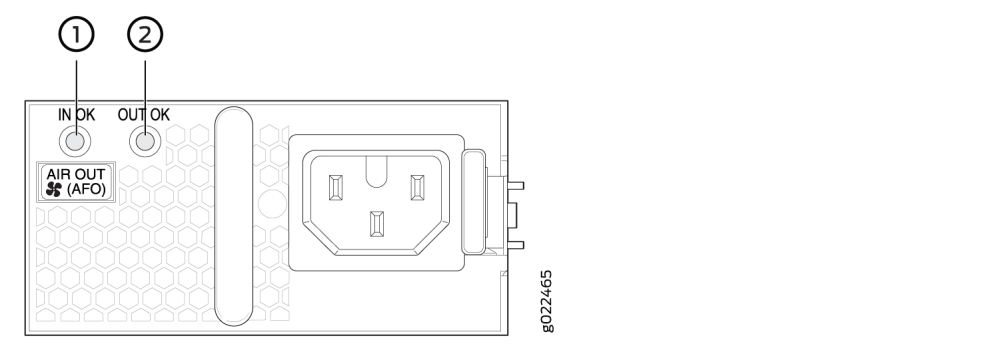 medium resolution of leds on ac power supply for ex4300 switches
