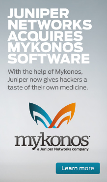 Juniper Networks and Mykonos Software