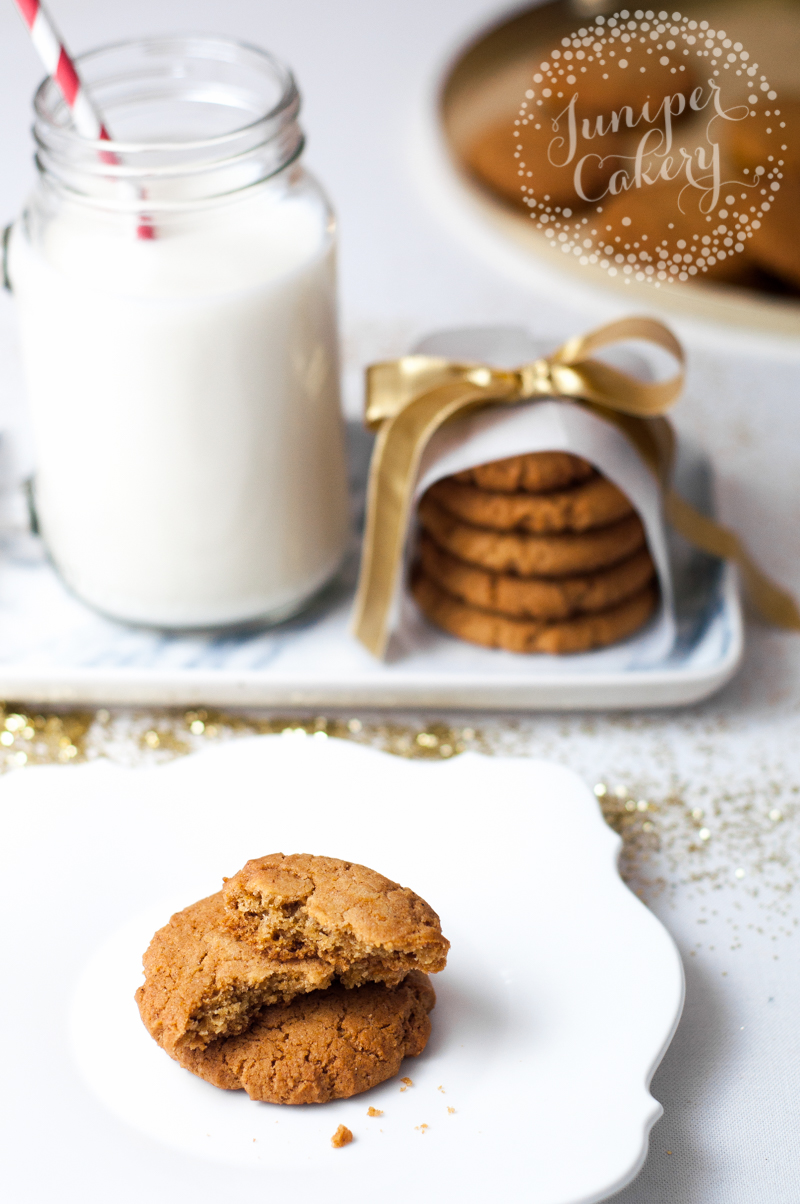 Deliciously soft gingerbread cookie recipe for Christmas