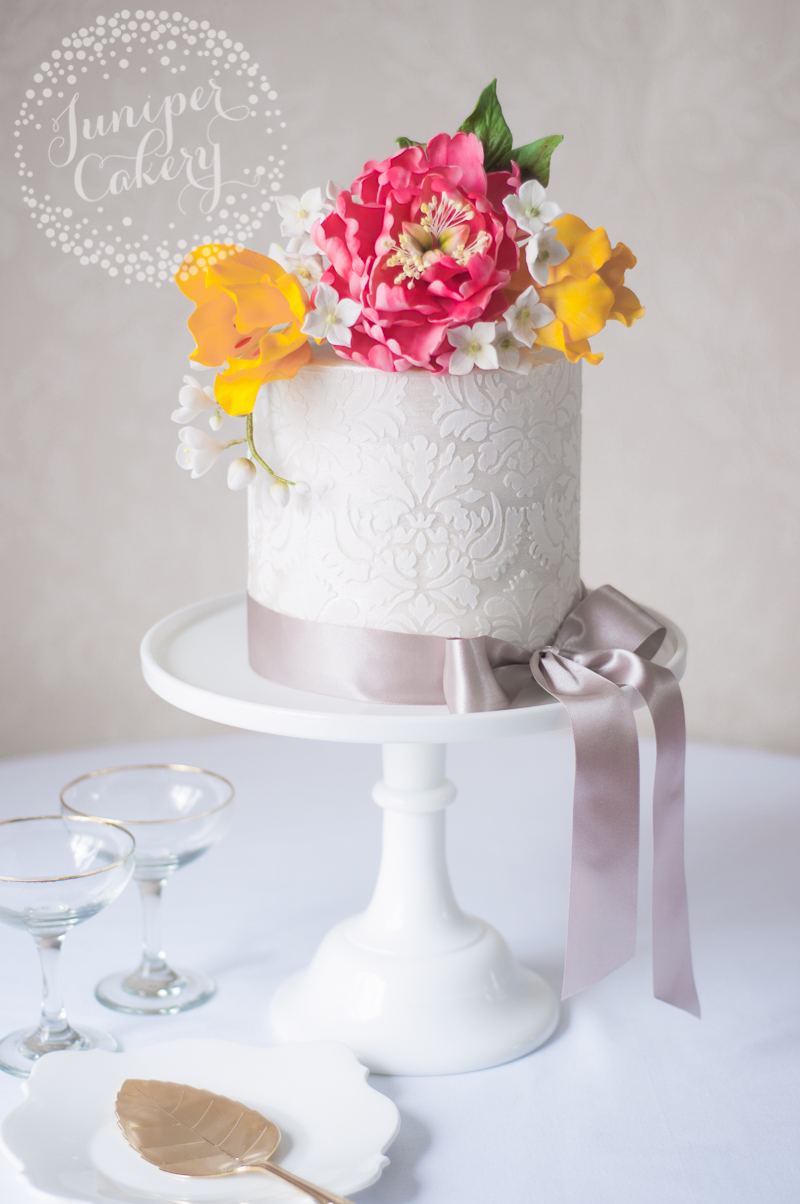 sugar flowers Archives - Page 2 of 2 - Juniper Cakery | Bespoke ...