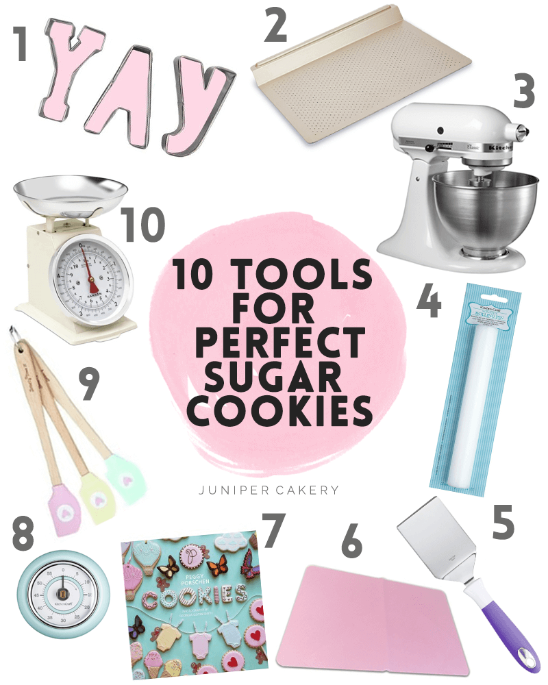 10 tools for perfect sugar cookies