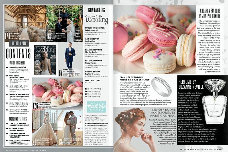 Love Our Wedding magazing