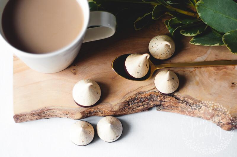 Tasty coffee meringue recipe