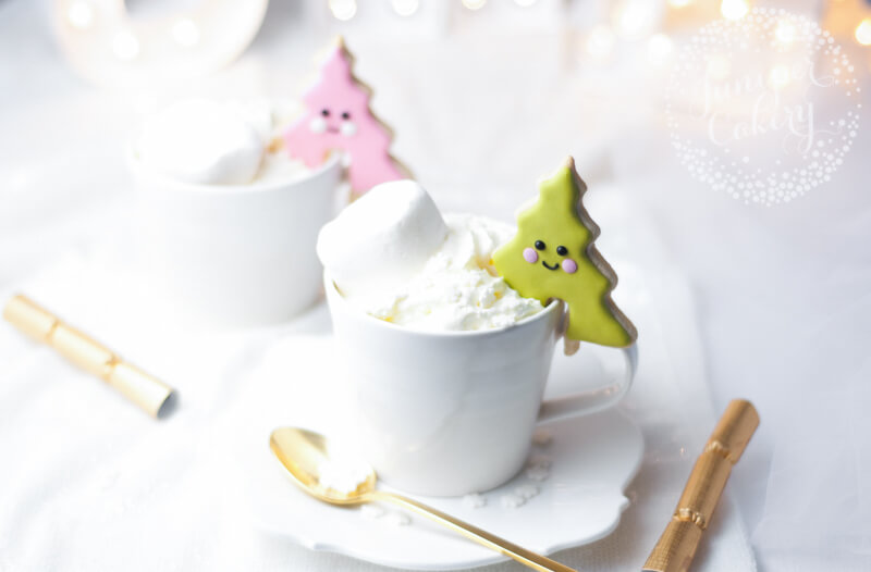 Juniper Cakery's Christmas tree cookies with Bakesbox