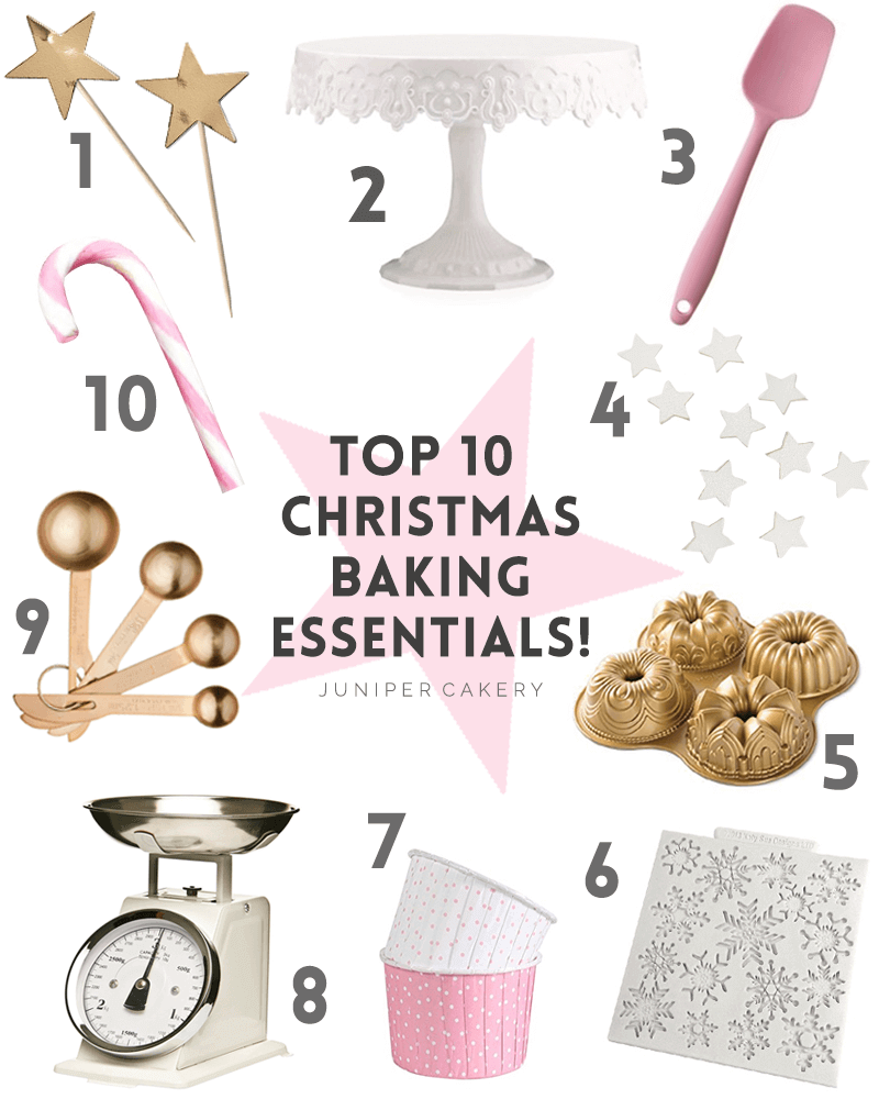 Our top 10 Christmas baking essential