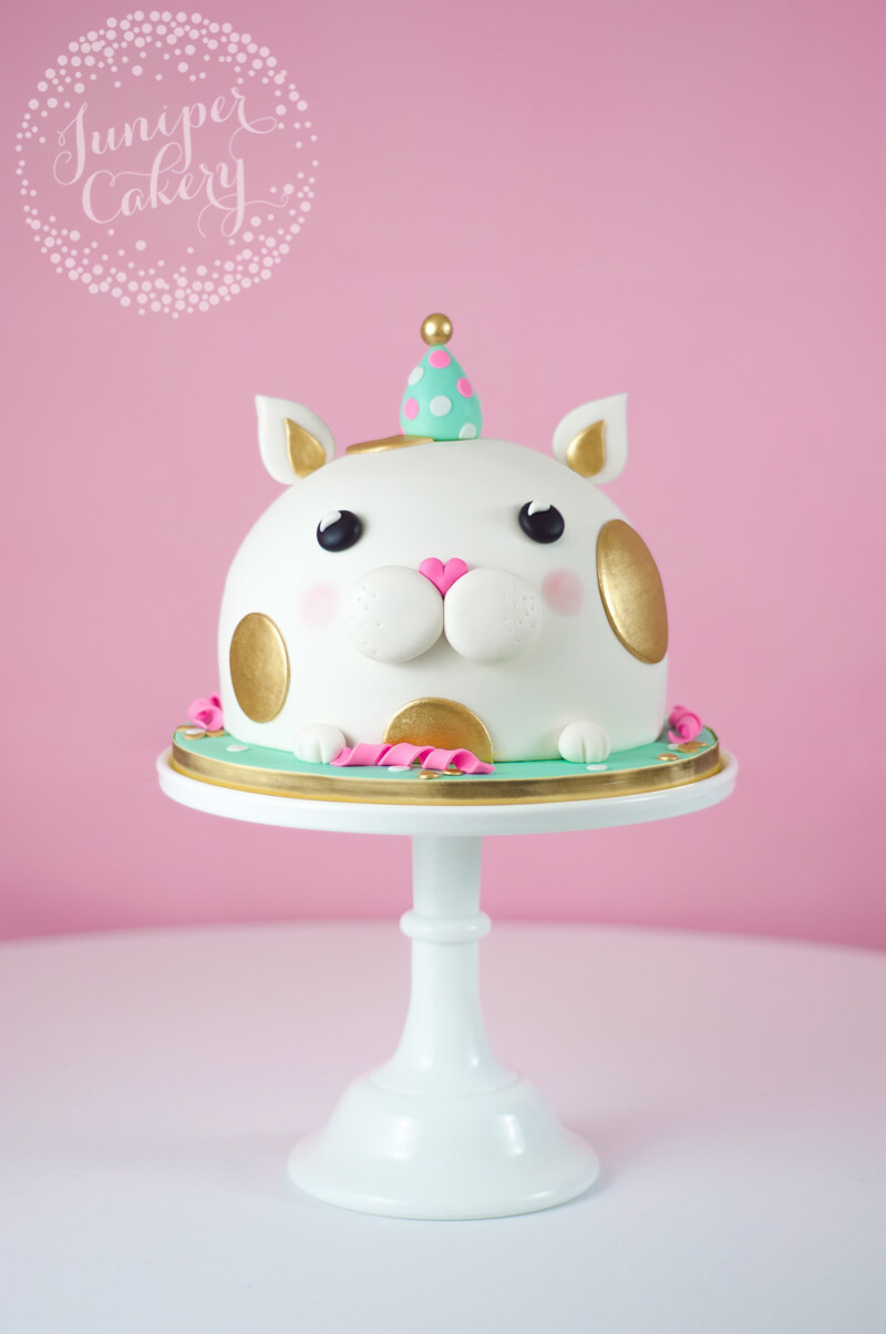 Kitty cake by Juniper Cakery