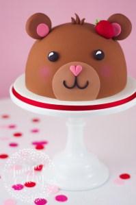 Our Teddy Bear Cake Tutorial Available via Craftsy!