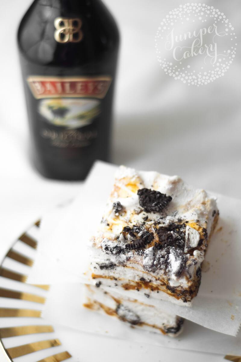 Easy cookies and Irish cream marshmallows by Juniper Cakery