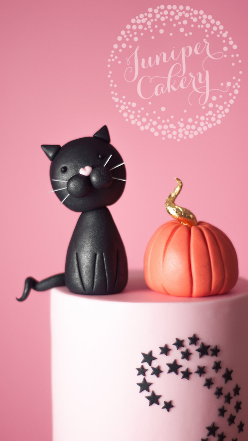Cute Halloween cake tutorial with eBay by Juniper Cakery