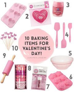 Our Top Baking Supplies for Valentine's Day!