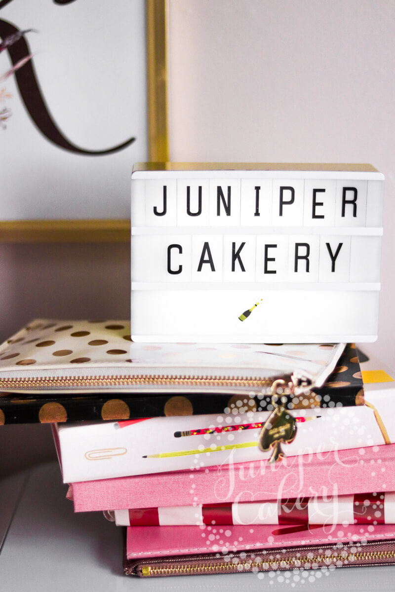 Juniper Cakery desk