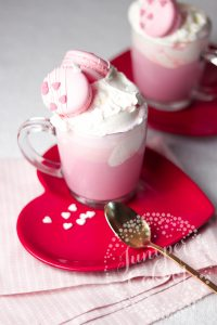 Recipe: Stylish Pink Hot Chocolate for Valentine's Day