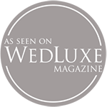 As featured on WedLuxe Trend Report