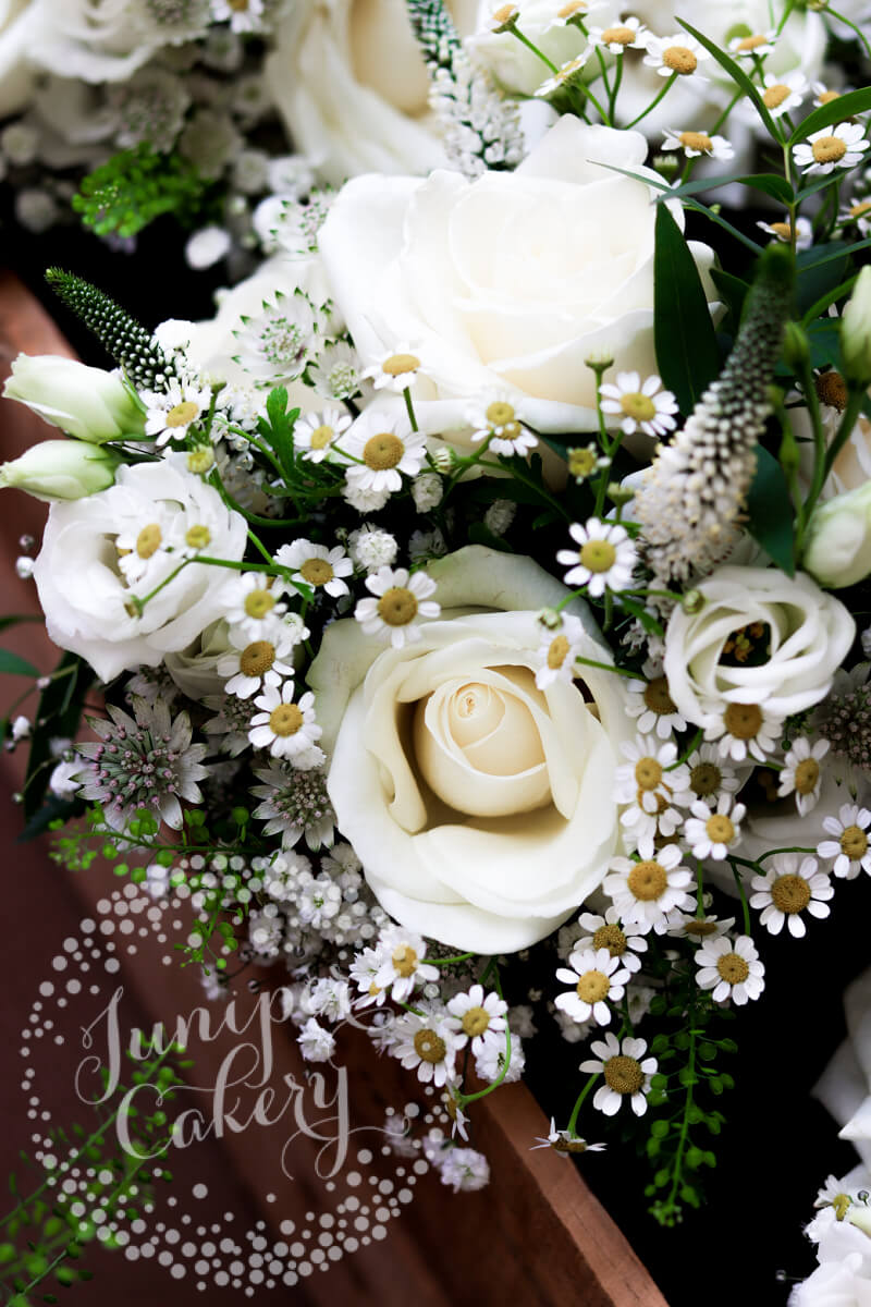 Beautiful florals from The Wedding and Flower Boutique