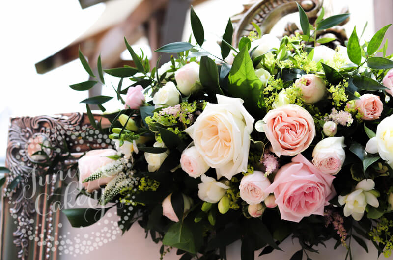 Stunning flowers by The Wedding and Flower Boutique and Sanctuary Flowers