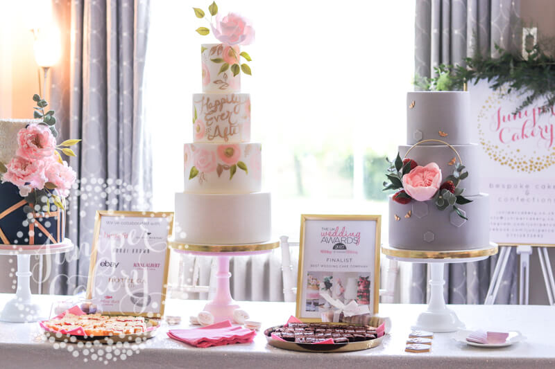 Brides Up North wedding show at Saltmarshe Hall by Juniper Cakery