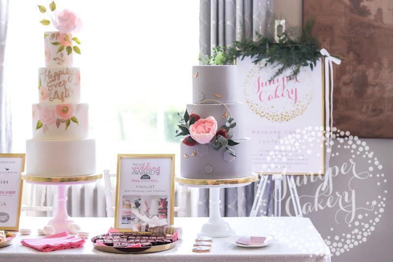 Lovely cakes at Saltmarshe Hall by Juniper Cakery