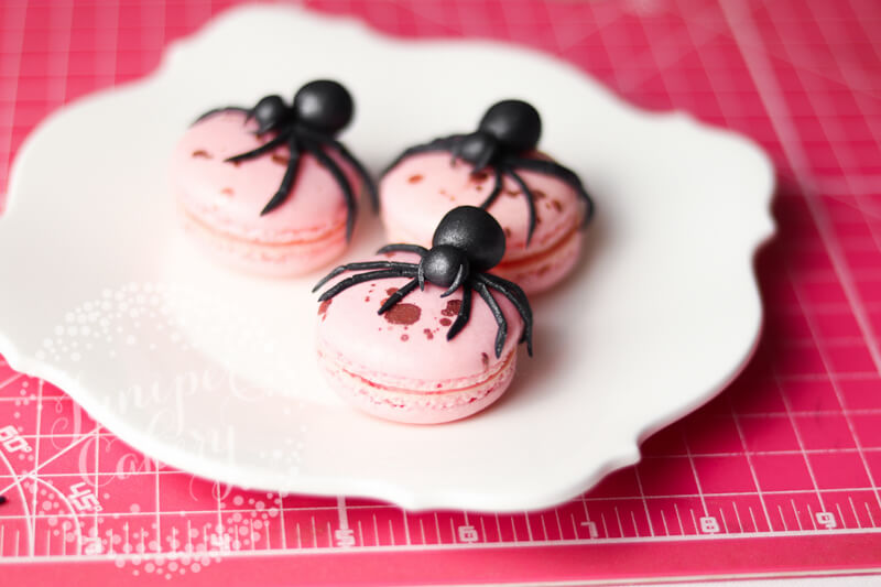 Try this creepy fondant spider tutorial by Juniper Cakery