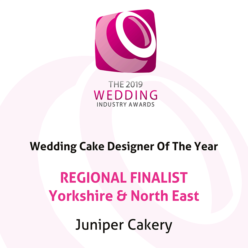 Best Wedding Cake Designer of the Year Regional Finalist