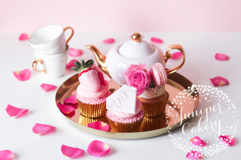 Lovely Mother's Day Cupcakes by Juniper Cakery