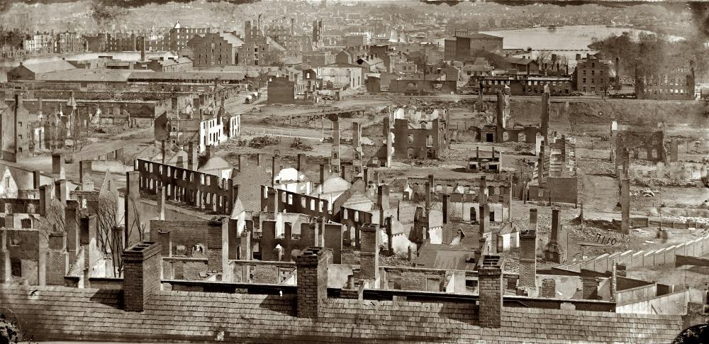 Quot Richmond In Ruins 1865 Quot Vintage Photos Framed