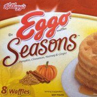 Eggo Pumpkin Spice Waffle