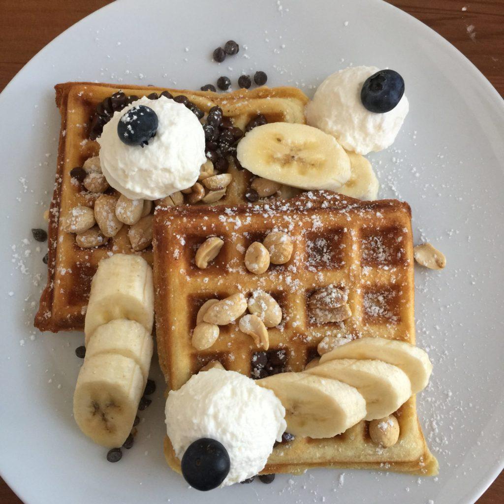 Waffles @ Trace