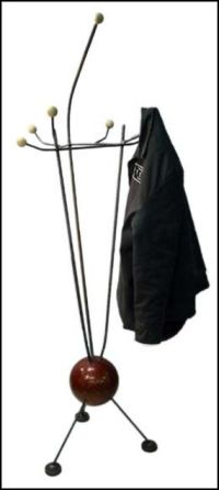lamp and bowling ball coat rack - JUNKMARKET Style