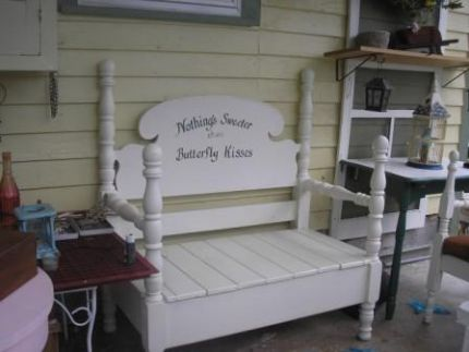my bench projects - junkmarket style